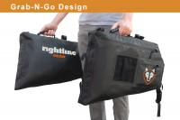Rightliine Gear 100J75-B Side Storage Bag -Black