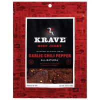 Krave Jerky Garlic Chili Beef