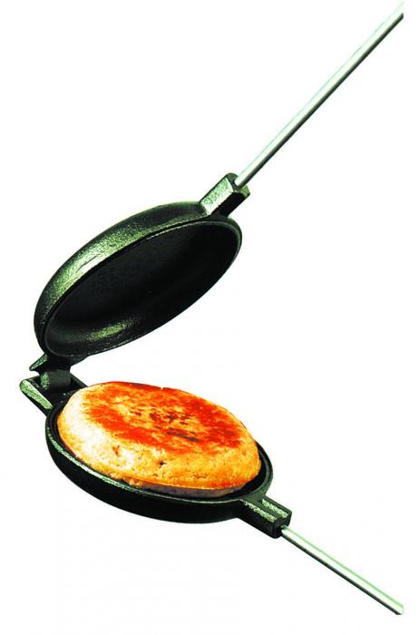 Rome Industries Mountain Pie Maker, Cast Iron - Round