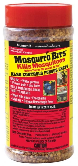 Mosquito Dunks Mosquito Bits 8 oz with Shaker Top