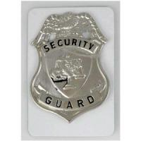 Fury Sporting Cutlery Security Guard Badge, Silver