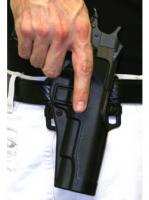 Blackhawk Product Group Carbon Fiber Holster with Serpa Lock, RH - Glock 20/21