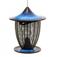 Byer of Maine Pagoda Bird Feeder - Cobalt Blue