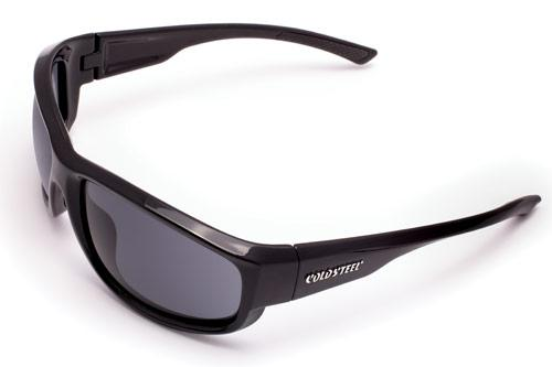 Cold Steel Knives Battle Shades Mark II, Black Gloss Frame, Gray Lens