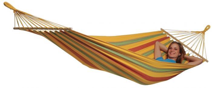 Byer of Maine Aruba Hybrid Hammock XL, Vanilla Yellow
