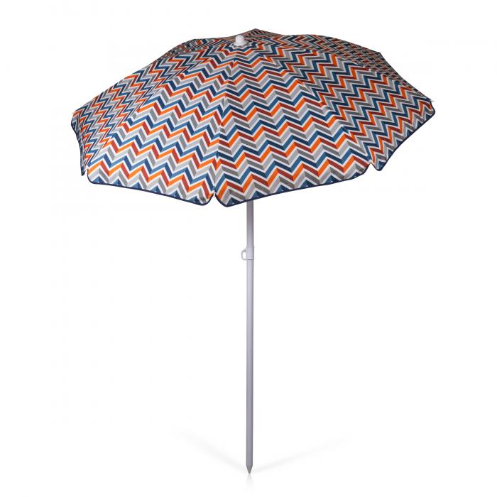 Picnic Time Umbrella 5.5Portable Beach/Picnic Umbrella (Vibe Collection)