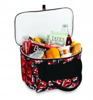 Picnic Plus Avanti Cooler Tote - Red Carnation