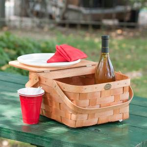 Picnic Backpacks for 2 by Peterboro Basket Co.