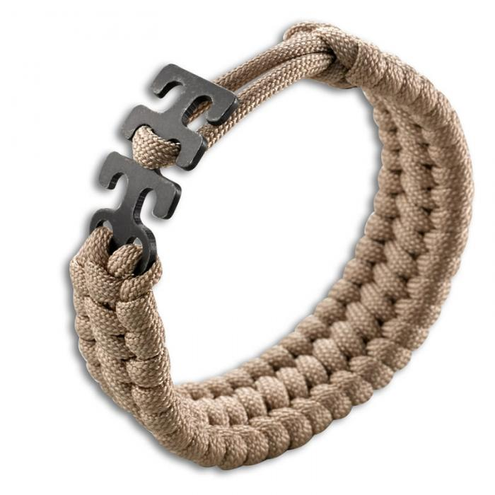 Columbia River (CRKT) Adjustable Paracord Bracelet - Tan