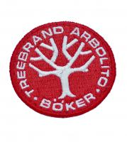 Boker Merchandising Red Patch w/ Embroidered Logo
