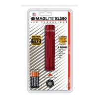 MagLite XL200 3-Cell AAA LED Red Blister