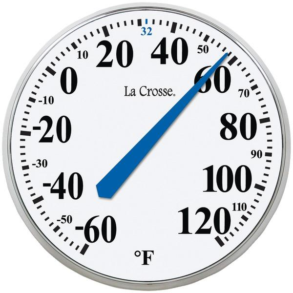 La Crosse Technology 104-114 13.5 Round Thermometer