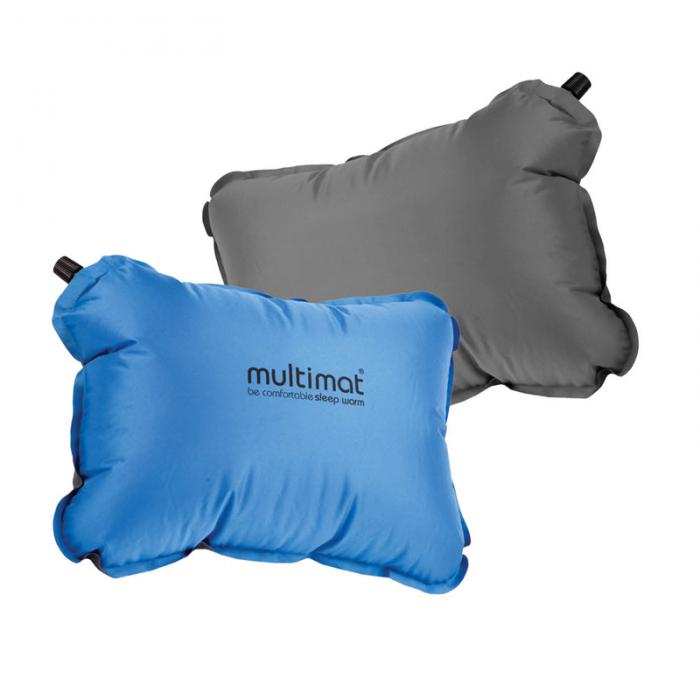 ProForce Multimat-Camper Pillow, Blue/Charcoal Reversible