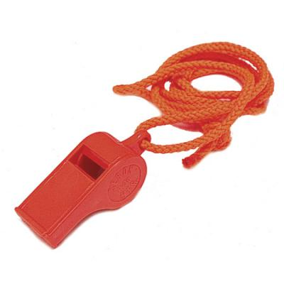 Liberty Mountain LM Plastic Whistle with Lanyard
