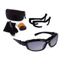 Bobster Action Eyewear Road Hog II Convertible, Black Frame, 4 Lenses