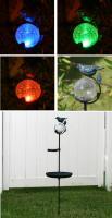 Smart Solar Aquarius Birdbath Solar Stake