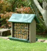 Rubicon Woodpecker Feeder - Holds 3# Suet Cakes/Blocks