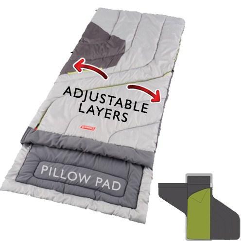 Coleman Adjustable Comfort Adult Sleeping Bag