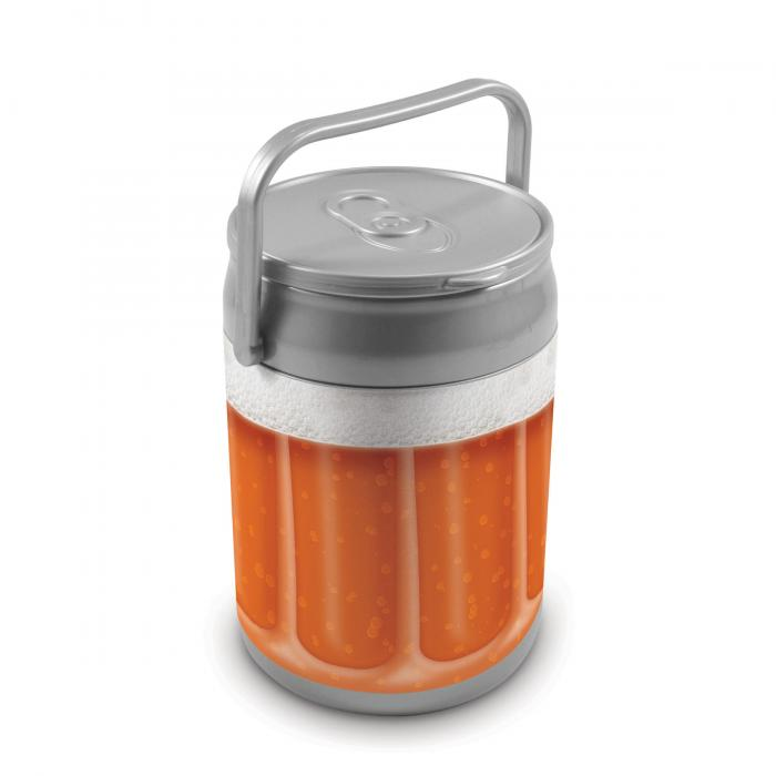 Picnic Time 9 Quart Capacity Can Cooler - Beer Glass Can