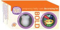 Bold Pregnancy Belly Cast Decorating Kit