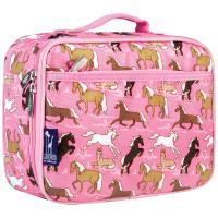 Olive Kids Horses in Pink Lunch Box