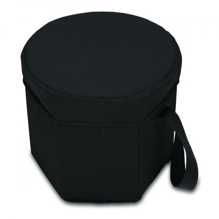 Picnic Time Bongo 12-Quart Collapsible Cooler, Black