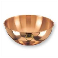 "Old Dutch 12"" Copper Beating Bowl 5 QT."