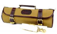 Boldric Canvas Roll Knife Bag, Khaki