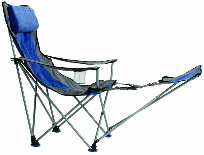 Travel Chair Big Bubba Folding Outdoor Chair, Blue