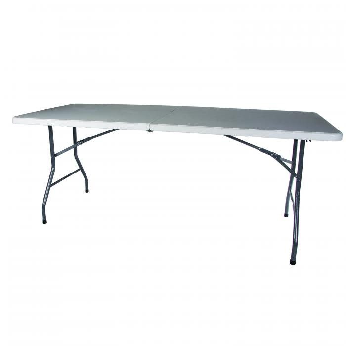 "Stansport Folding Table  - White - 72"" x 29"" x 29"""