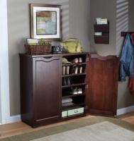 Merry Products 6 Tier Wooden Shoe Dresser