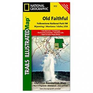 National Geographic White Mtns Ntl Frst East #741