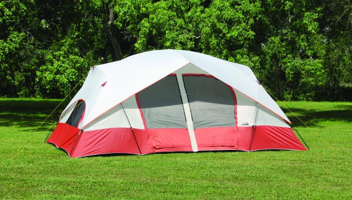 Texsport Bull Canyon Two-Room Cabin Dome Tent