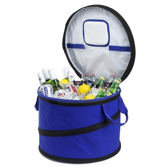 Picnic At Ascot Collapsible Party Tub Cooler Royal Blue