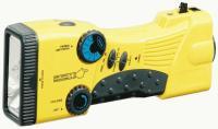 Stansport - Hand Crank/Solar Battery Radio/Flashlight