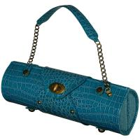 Picnic at Ascot Wine Carrier & Purse, Turquois