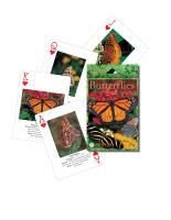Impact Photographics Playing Cards Butterflies