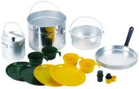 Stansport 4 Man Cook Set -  Aluminum