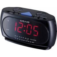 Craig Black Dual Am/FM Alarm Clock
