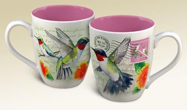 American Expeditions Hummingbird Postcard Coffee Mug