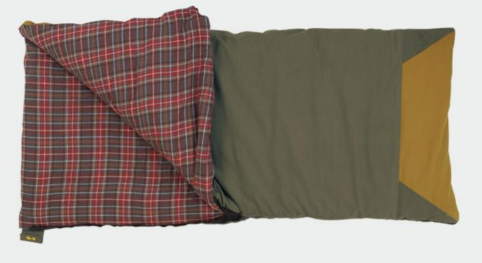 "Sleeping Bag 15 Deg. Centerfire - 80"" x 38"""