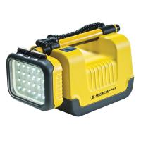 Pelican Products Remote Area Lighting System, 24 LEDs, Rechargeable, Yellow