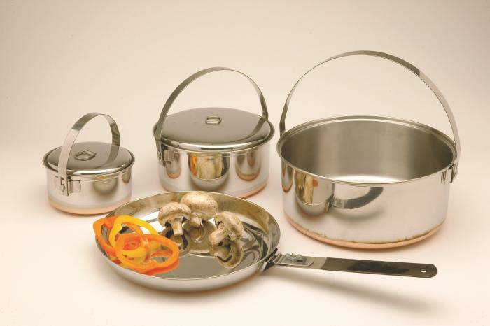 Texsport Family Stainless Steel Cook Set