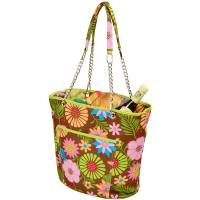 Picnic at Ascot Insulated Fashion Cooler Bag - 22 Can Tote -  Floral