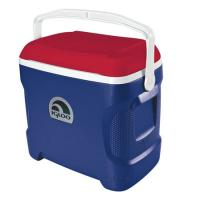Igloo Contour 30 Personal Cooler, Blue/White