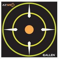 EZ See Adhesive Round Bullseye Tgt 12/pk