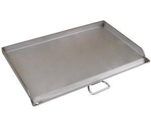Camp Chef 15'' x 32'' Polished Steel Deluxe Griddle