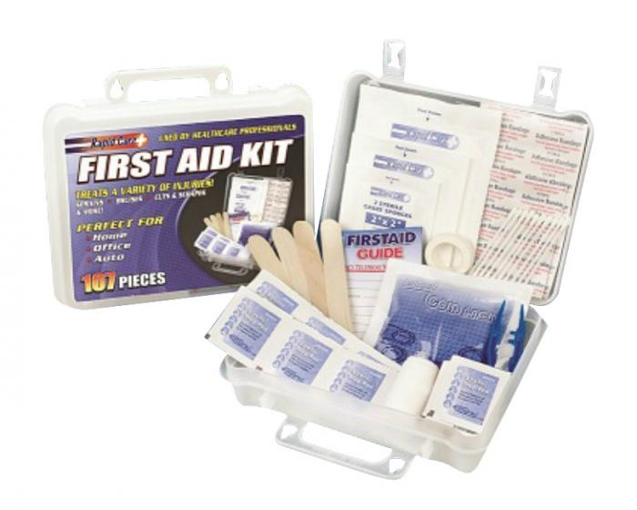 Guardian 107 Piece First Aid Kit