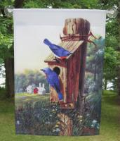Eklund's Ltd. Flag Large, Summer Bluebirds