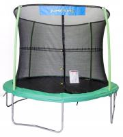 Bazoongi Kids JumpKing 10' Trampoline and Enclosure Combo